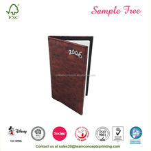 Recycled Customized Dairy PU Leather Notebook