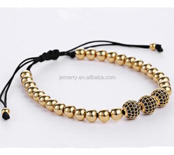 dfda1d58a2323 18k Gold Charm Bracelets For Men Anil Arjandas Jewelry Cool Mens Diy  Adjustable Beaded Macrame Bracelets - Buy Beaded Macrame Bracelets,18k Gold  Charm ...