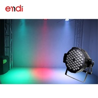 ENDI 3in1 High power 3W x 54 led waterproof Sound control par light with ce rohs led wash stage effect lighting