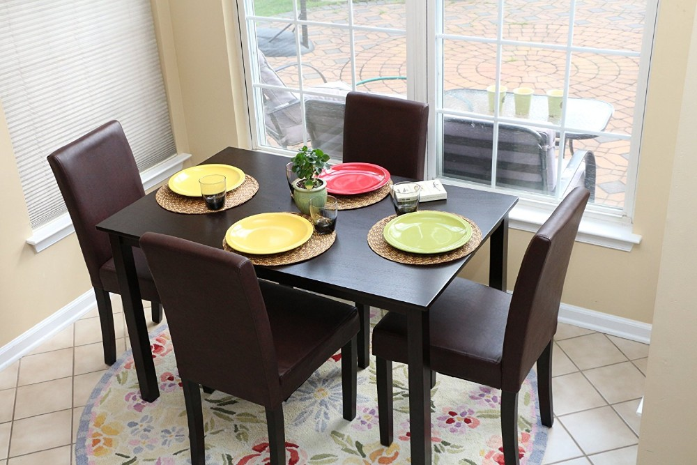 Dining Room Furniture Black Color Six Seater Pictures Of Table Made In Malaysia Set