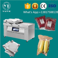 DZ-400T single-chamber table-type Vacuum packing machine for sausage with gas filling