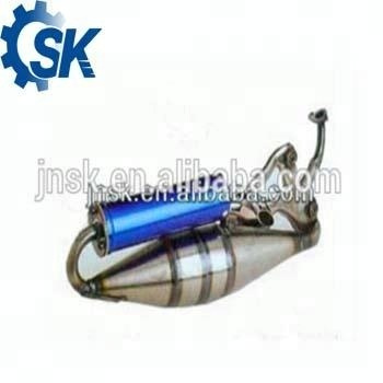 China manufacturer engine parts Exhaust System Scooter Motorcycle Exhaust Muffler for ZX50C