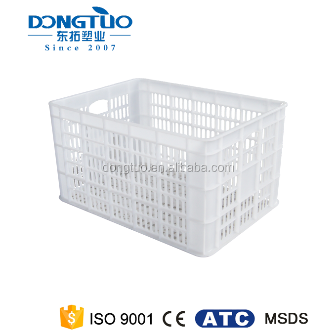 Customized plastic crates for fruits and vegetables wholesale