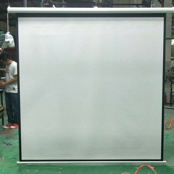 Electrical projection screen motorized screen for projector+remote control