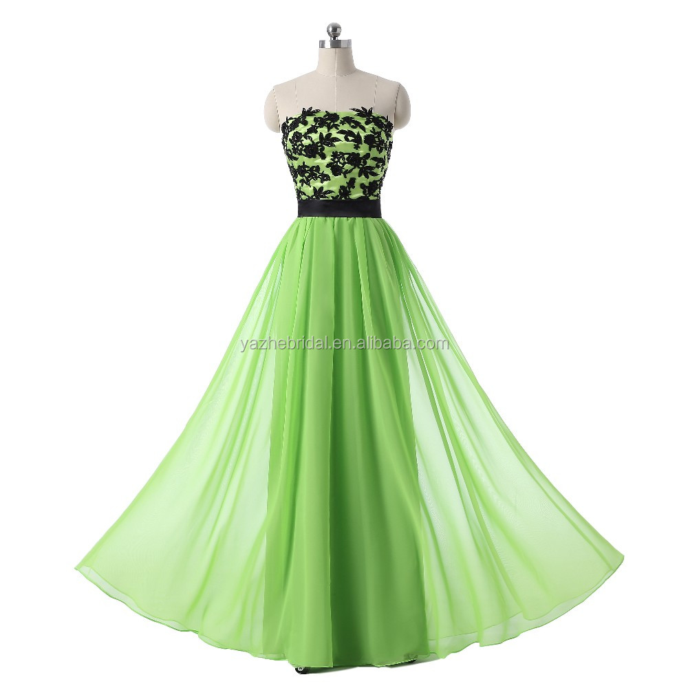 74af5e854ad Green Strapless Bridesmaid Dresses - Gomes Weine AG