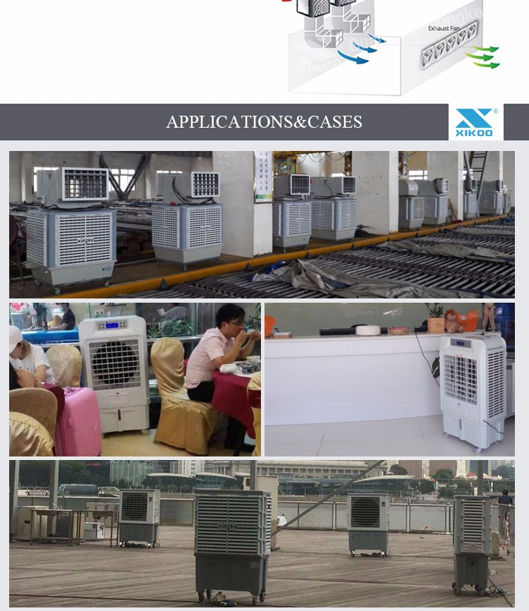 Tradewinds Generators: Green House Portable Electric Tradewinds Evaporative Air