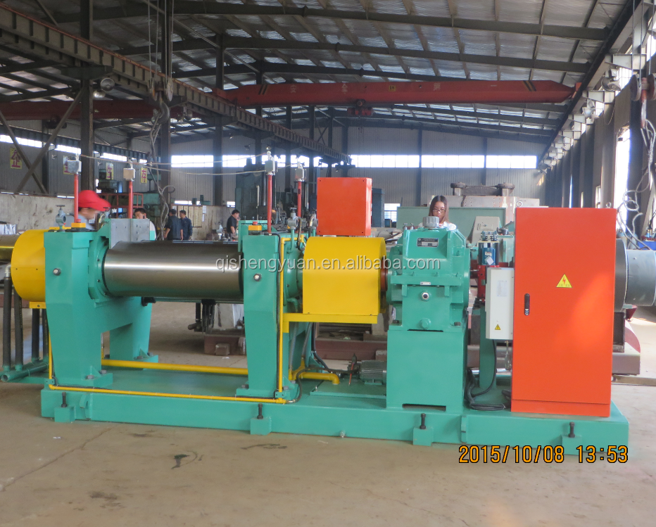 Xk-450 Silicone Two Roll Mixing Rubber Machine To Process