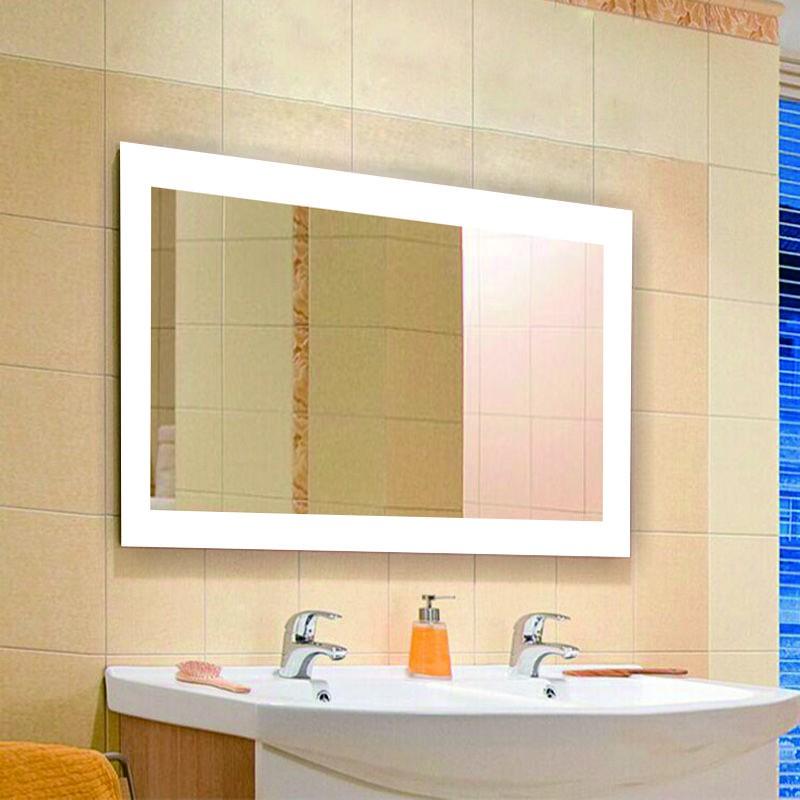 Eterna Lighted Dressing Room Mirror Illuminated Bathroom Mirror ...