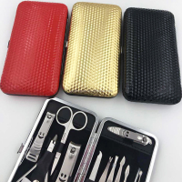 High Quality Nail Care 12 Piece Clippers Manicure Set