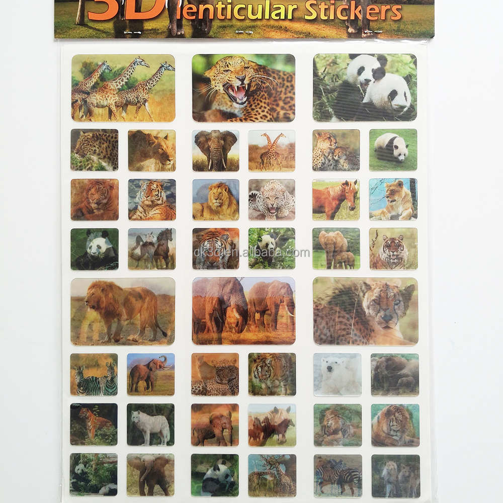 Hot sell 3d motion moving lenticular sticker buy custom lenticular stickercustom 3d stickers3d dimensional stickers product on alibaba com