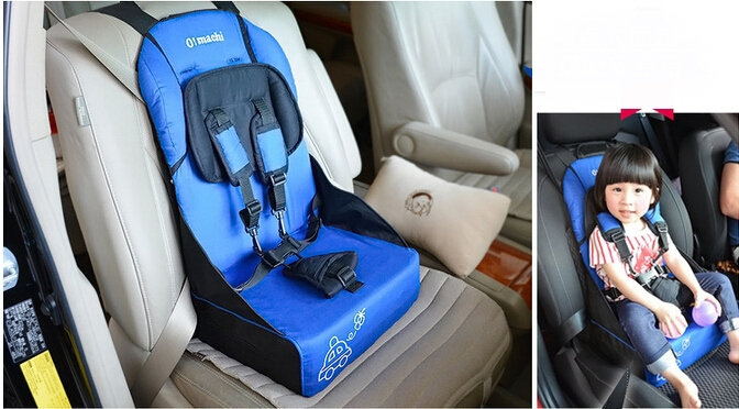 Portable Universal Baby Kid Car Safety Seat Adjustable