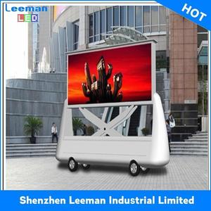 foton 4 wheeler 80hp trucks hight quality full color control board led sign for taxi