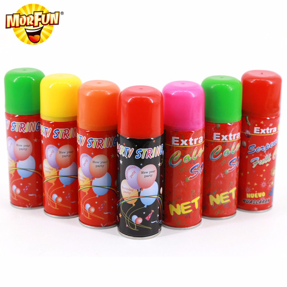 Big Bargains birthday party goods silly string video silly string party city