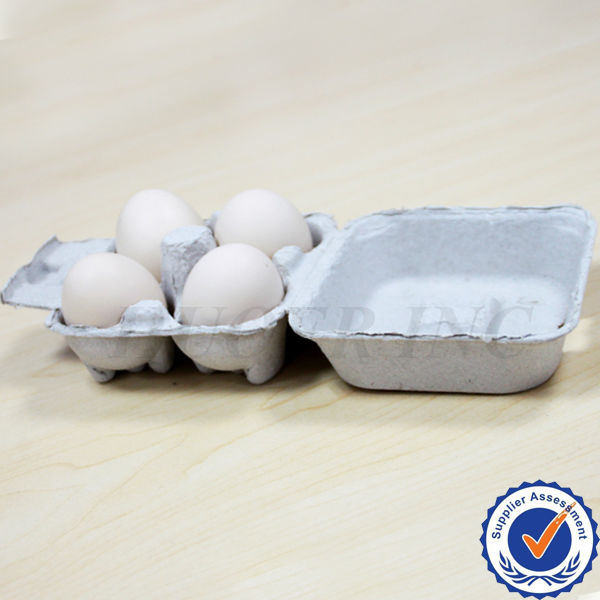 High Quality 4 Piece Eco Friendly Egg Cartons