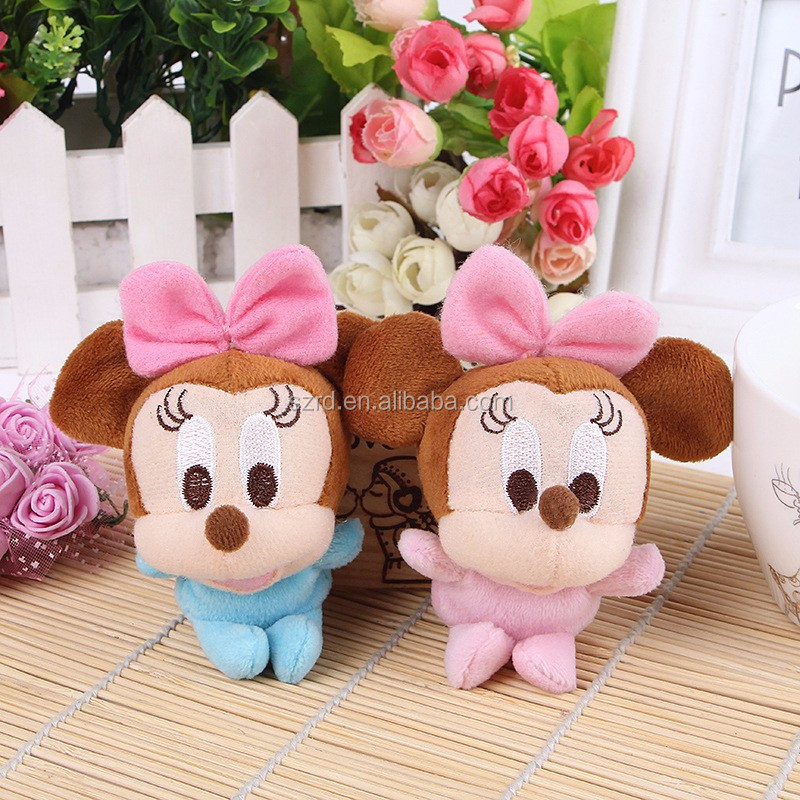 Good quality little mouse plush toys pendant most popular design plush Lovely mouse doll stuffed animal from china