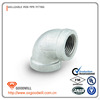 Cast iron material standard or non standard galvanized malleable iron pipe fittings elbow