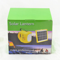 1W LED light control rechargeable solar camping light phone charger solar camping light radio function