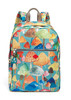 2016 fashion floral mummy back[ack day backpack for lady