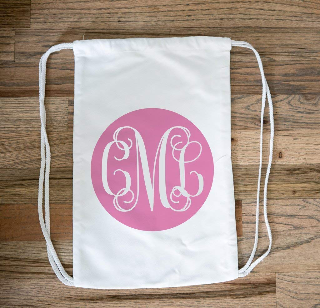 7aa2680c00c Get Quotations · Personalized Drawstring Bag for Girls