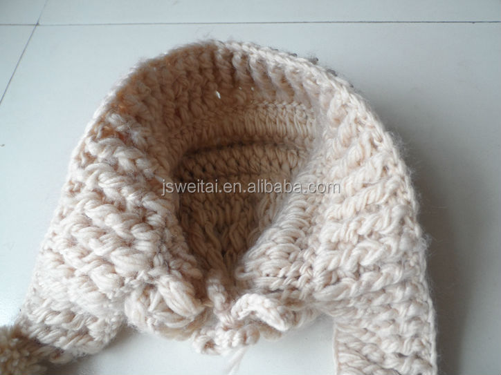 Cheap Girl Winter Earflap Hat Crochet Pattern - Buy Earflap Hat ...