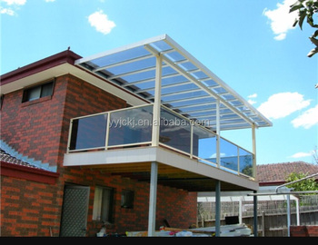 Unbreakable Lexan Milky White Solid Polycarbonate Roof