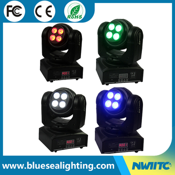 Double Side Wash Mini Led Moving Head Stage Lighting China Wholesale