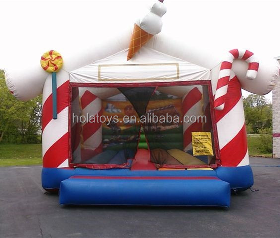 Hola Carnival inflatable bouncer/Christmas bounce castle for sale