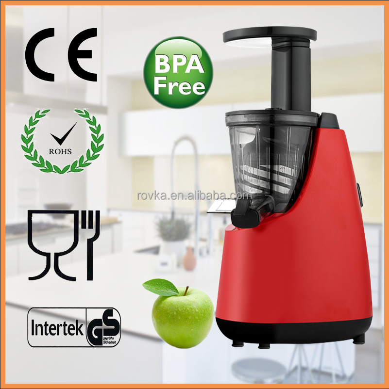household kitchen use masticating slow juicer