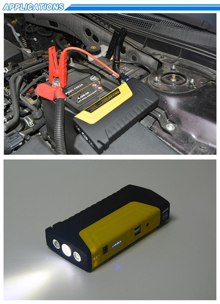 JIALILI del Salto del Coche de Arranque de Emergencia 12V 24V Cargador de bater/ía Banco de Potencia con Display LCD con reparaci/ón de bater/ías y Tecnolog/ía Mantenedor