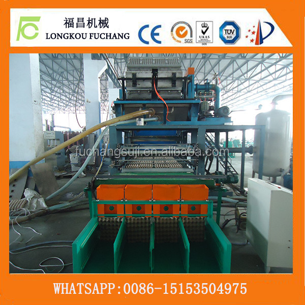 Free sample available automatic paper egg tray making machine/waste paper recycle egg tray machine-whatsapp:0086-15153504975