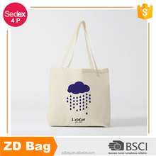 Wholesales 100% Cream Cotton Bag Canvas Tote Bag Shopping Bag