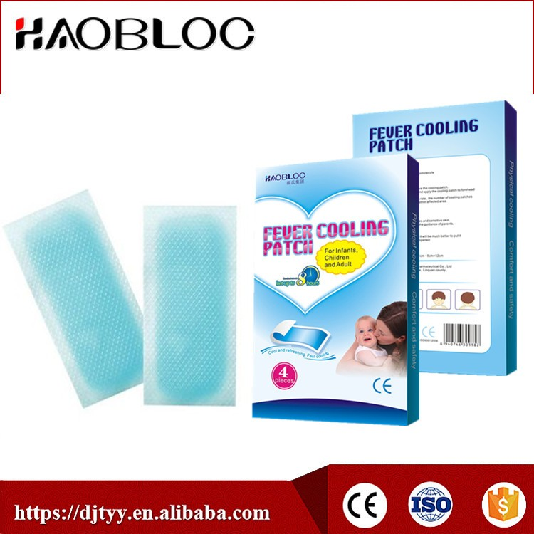 Original Direct Factory Manufacturer, OEM Good Quality Baby Cooling Gel Patch/Heat Reducing Sheet