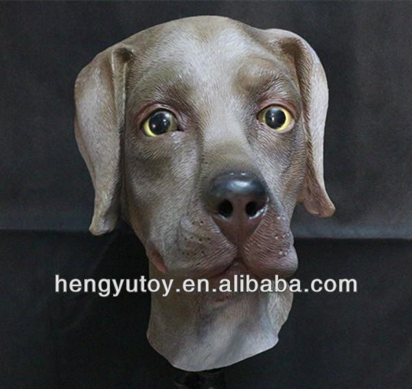 Hengyutoy Mask Maschera di Testa in Labrador in Lattice di Animali