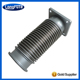 china supplier price list homogeneous welding exhaust bellows customizable hks muffler flexible hose
