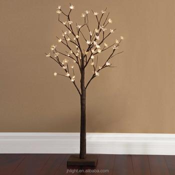 Verlichte Takken Bloemen Lichtpunt Vloerlamp Kerst Indoor Decor ...