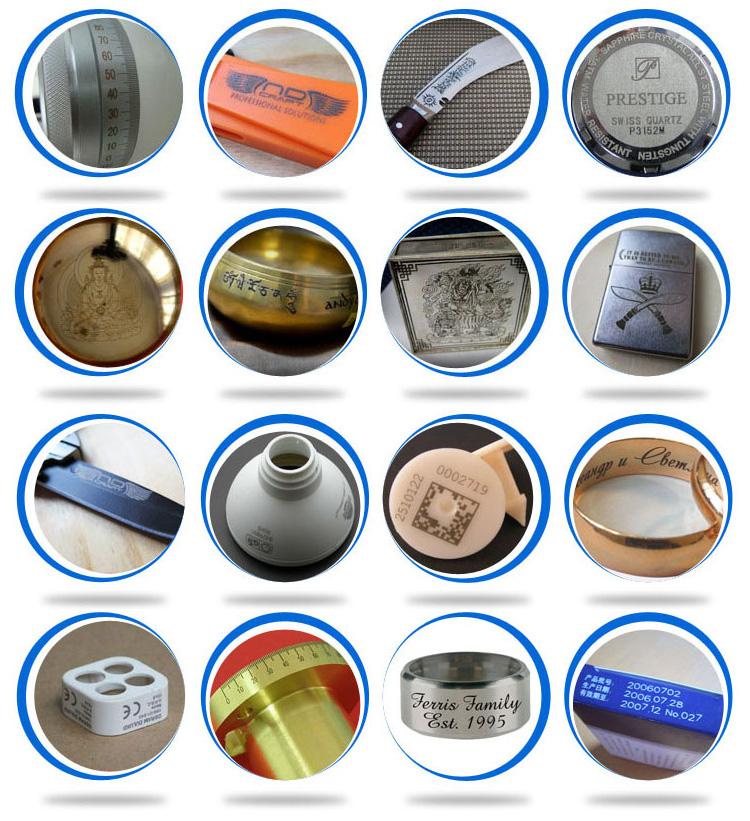 china 100w 50 watt vogel ring deutschland IPG yag cnc aluminium, lager, auto teile schmuck faserlasermarkierung