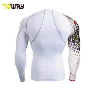 long sleeve mens compression shirt