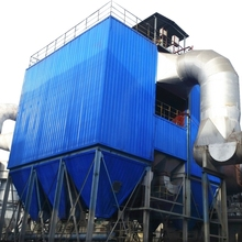 Industrial filtration pulse wood bag house dust collector machine