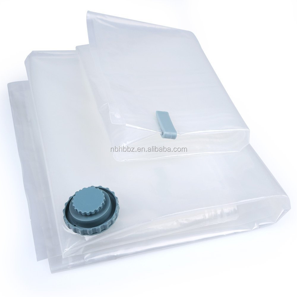 Plastic Compressed Vacuum Bags For Clothes Storage Best For Season Storage
