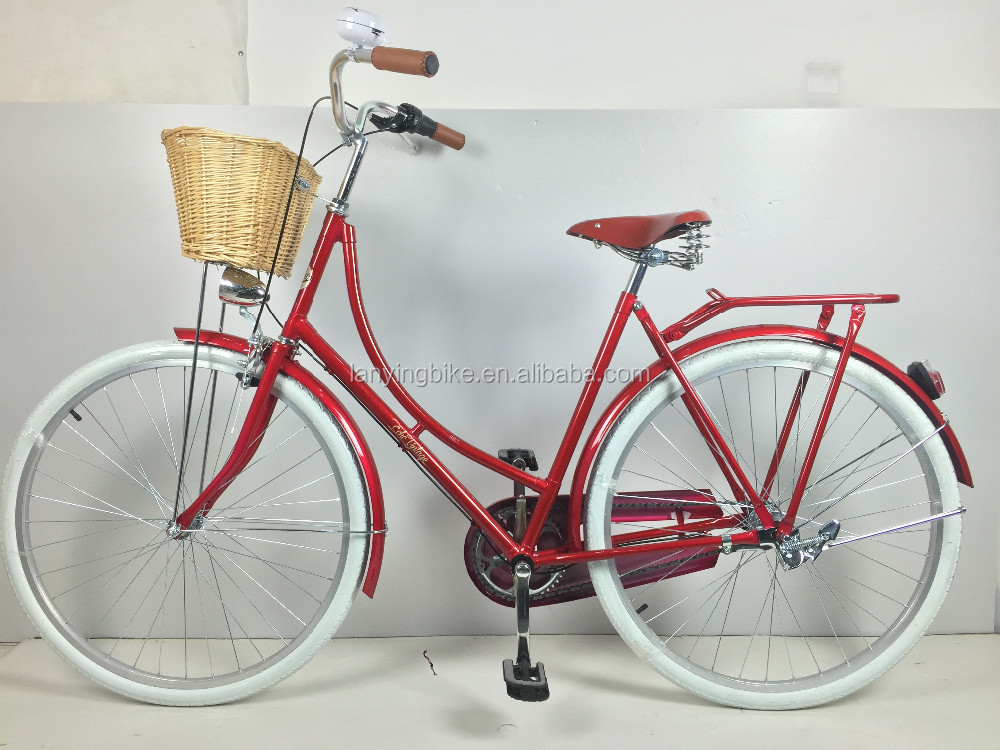 Retro Foot Brake City Bicycle 28 Nexus 3speed Dutch Bike Shining