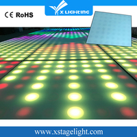 Guangdong X Lighting portable dance floor system for wedding party
