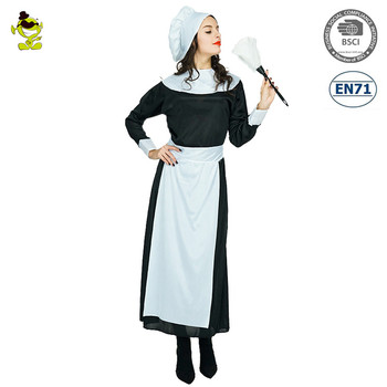 sexy pilgrim woman costume french maid lingerie cosplay