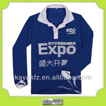 e481dbcd64a Custom Design Expo Long Sleeve Trendy Polo Shirt - Buy Trendy ...