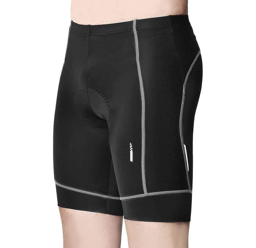 Lameda Mens Padded Cycling Shorts Breathable Bike Pants Half