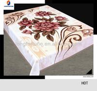 acrylic cotton polyester blanket