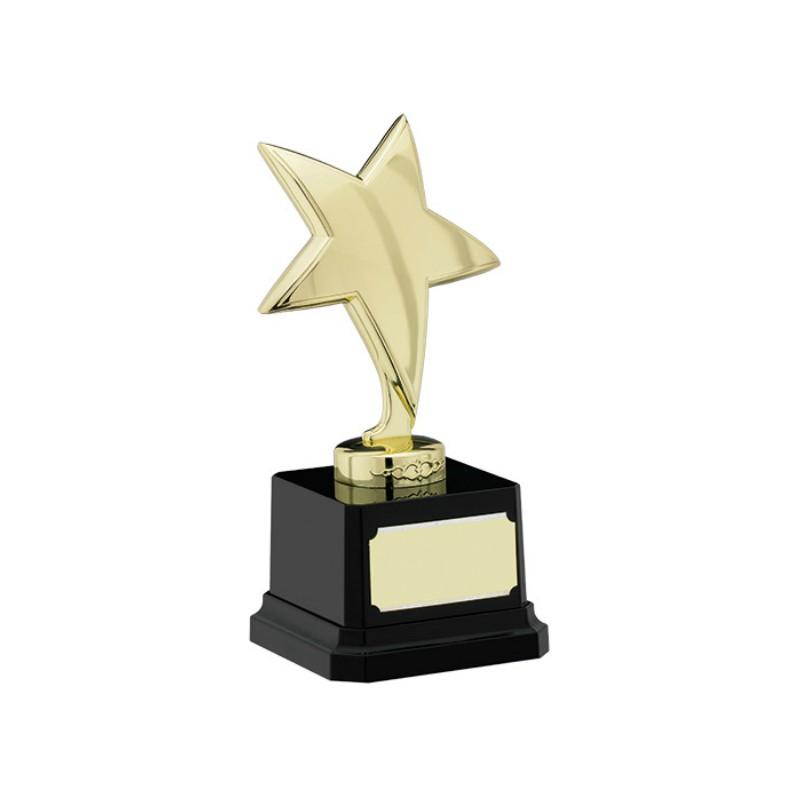 Unique custom five-star trophy