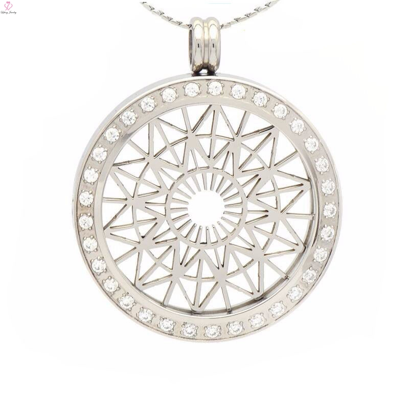Fashion coin holder necklace pendantcoin pendants with plate view fashion coin holder necklace pendantcoin pendants with plate view coin holder necklace pendant lefeng jewelry product details from guangzhou lefeng aloadofball Images