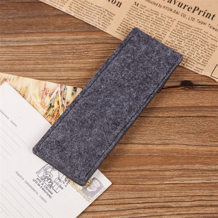 New arrival OEM design felt cover pen case with attractive price