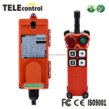 F21-4S 4 push buttons UP DOWN NORTH SOUTH EAST WEST industrial gantry overhead bridge crane wireless remote controller