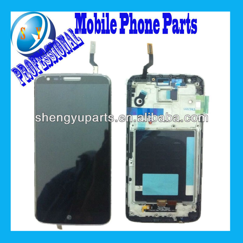 High Quality LCD Screen For LG Optimus g2 d801 d802 ls980 lcd with touch assembly